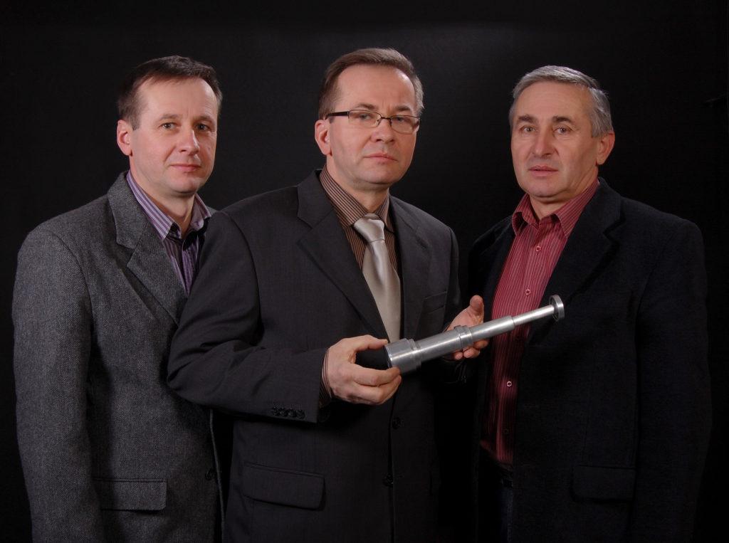 Wiesław, Zygmunt i Janusz Nowak - wynalazcy