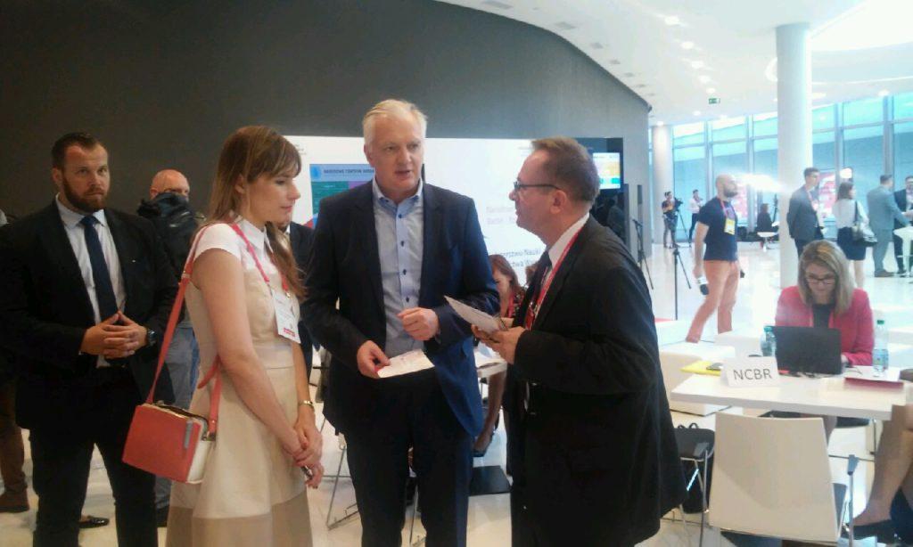 Rozmowa z Panem Wicepremierem i Ministrem Jarosławem Gowinem na Kongresie IMPACT17 w Krakowie